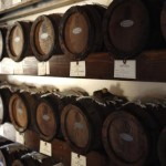 balsamic vinegar barrels