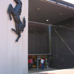 The Ferrari museum in Maranello