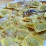 Tortelli alla parmigiana