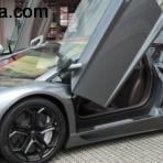 Lamborghini Aventador LP700/04 Test drive