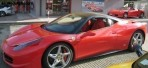 Ferrari 458 test drive in Maranello